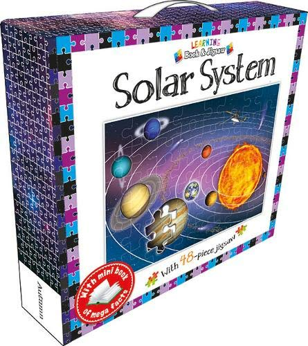 Solar System Book and Jigsaw Puzzle (48 pieces)