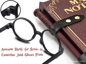 Harry Potter Glasses and Scar Tattoo Dress-Up Set (1 glasses and tattoo in each)