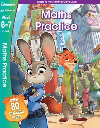 Disney Learning: Zootropolis Maths Practice (Ages 6-7)