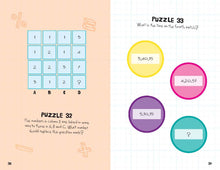 Load image into Gallery viewer, Mensa Kids: How to Train Your Brain Puzzle Book (Level 1)