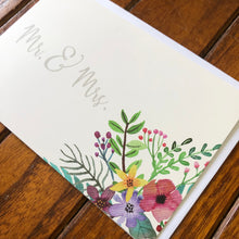 Load image into Gallery viewer, Mr. & Mrs: Wedding Card