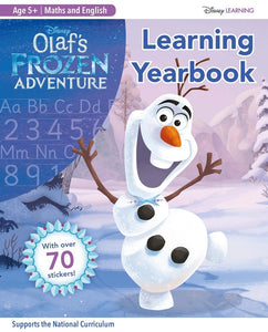 Disney Learning: Olaf's Frozen Adventure: Maths and English Learning Yearbook (Age 5+) Reading and Comprehension Learning Workbook (Ages 5-6)