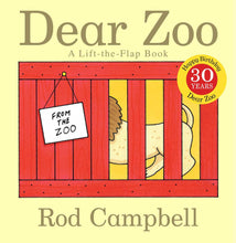 Load image into Gallery viewer, Dear Zoo: A Lift-the-Flap Book