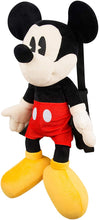"Load image into Gallery viewer, Mickey Mouse 22"" Cuddly Toy Backpack"