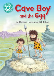 Cave Boy and the Egg (Turquoise 7)