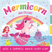 Load image into Gallery viewer, Lift the Flap: Mermicorn and Friends