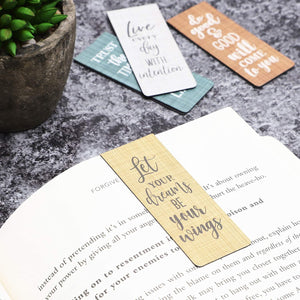 Inspirational Magnetic Bookmarks