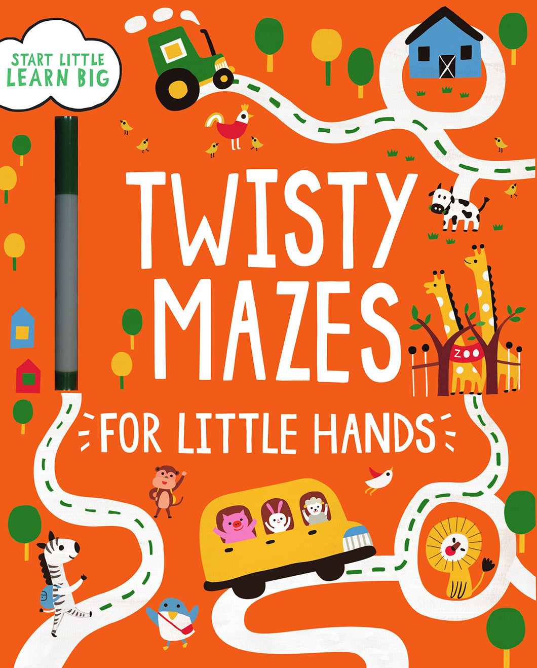 Twisty Mazes for Little Hands