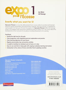 Expo pour l'Ecosse 1 Pupil Book (Ages 11 to 14)