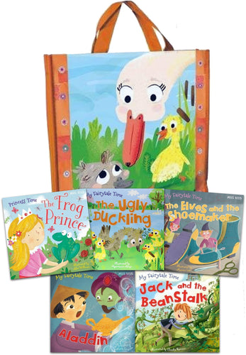 Fairytale Adventures Collection (5 Books with Tote Bag)