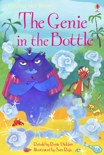 Usborne First Reading: The Genie in the Bottle (Level 2)