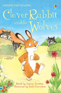 Usborne First Reading: Clever Rabbit and the Wolves (Level 2)
