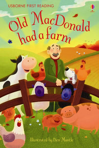 Usborne First Reading: Old MacDonald had a Farm (Level 1)