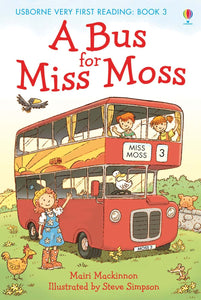 Usborne Very First Reading: A Bus for Miss Moss Book 3