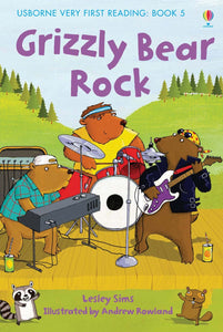 Usborne Very First Reading: Grizzly Bear Rock Book 5