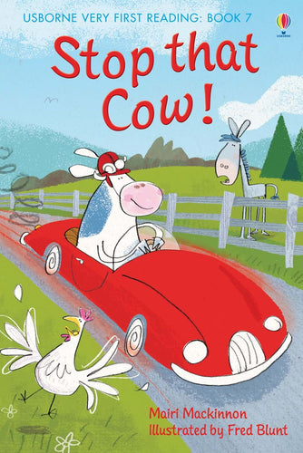 Usborne Very First Reading: Stop that Cow! Book 7