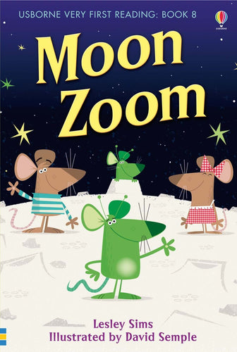 Usborne First Reading: Moon Zoom Book 8