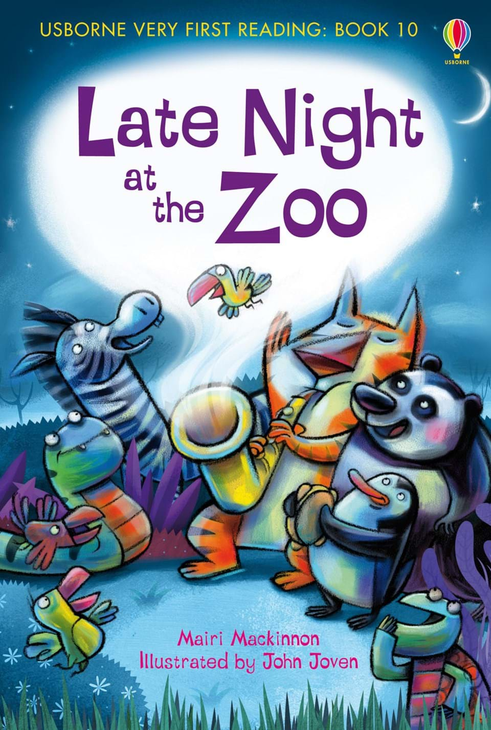 Usborne Very First Reading: Late Night at the Zoo