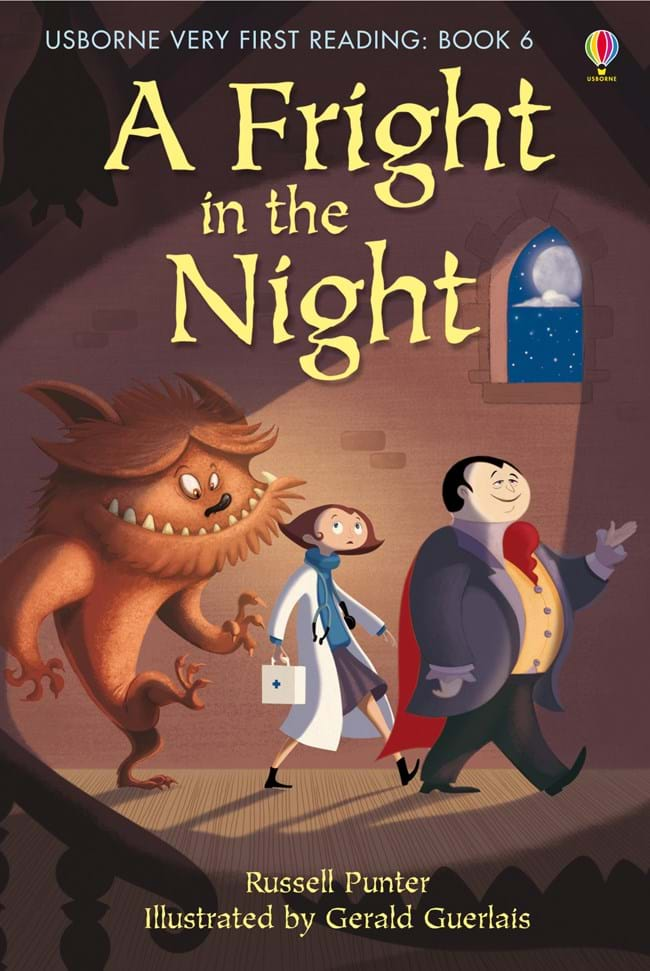 Usborne Very First Reading: A Fright in the Night