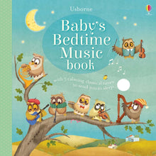 Load image into Gallery viewer, Usborne Baby's Bedtime Music Book