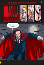 Load image into Gallery viewer, Usborne Dracula: Graphic Novel