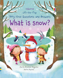 Lift the Flap: Q&A What is Snow?