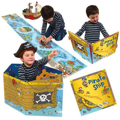 Book Convertible: Pirate Ship