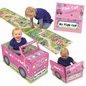 Book Convertible: My Pink Car
