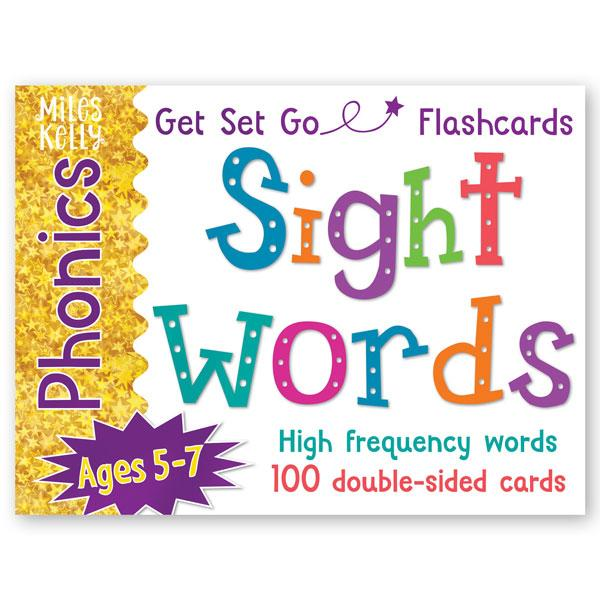 Get Set Go Flashcards: Sight Words