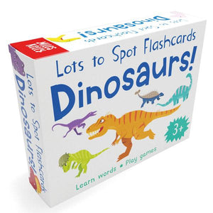 Lots to Spot Flashcards: Dinosaurs!