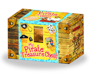My Pirate Treasure Chest: Activity and Dress Up Box
