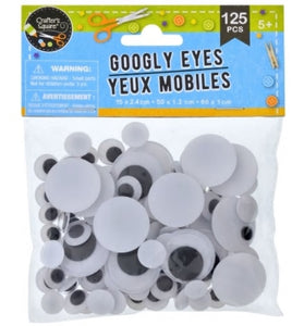 Googly Eyes (125 pieces)