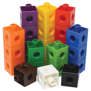 Maths Counting Linking Cubes (100 Blocks)