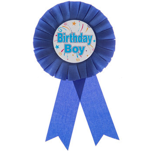 Birthday Boy Ribbon