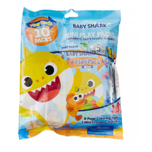Baby Shark Mini Play Packs (10 count)