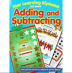 Star Learning Diploma: Adding and Subtracting (6-8 years)