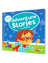 Load image into Gallery viewer, 2 in 1 Tales: Adventure Stories