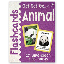 Load image into Gallery viewer, Get Set Go Flashcards: Animals