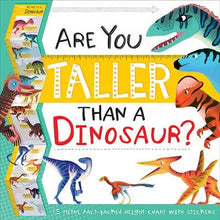 Load image into Gallery viewer, Are You Taller than a Dinosaur? Growth Chart