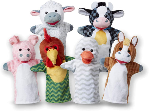 Melissa and Doug: Barn Buddies Hand Puppets