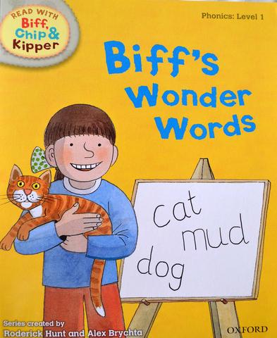 Biff's Wonder Words (Level 1)