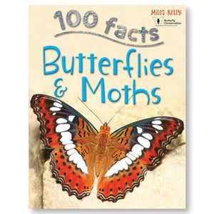 100 Facts Butterflies & Moths