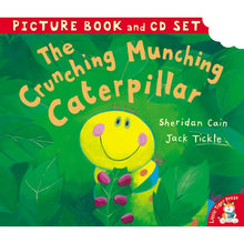 Load image into Gallery viewer, The Crunching Munching Caterpillar: Picture Book & CD