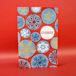 Sparkly Snowflakes Christmas Card Pack