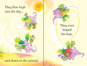 Usborne First Reading: How Elephants Lost Their Wings (Level 2)