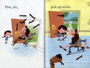 Usborne First Reading: One, Two, Buckle My Shoe (Level 2)