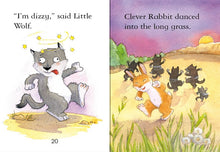 Load image into Gallery viewer, Usborne First Reading: Clever Rabbit and the Wolves (Level 2)