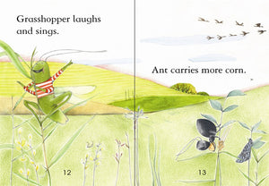 Usborne First Reading: The Ant and the Grasshopper (Level 1)