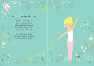 Usborne Little Sticker Dolly Dressing: Ballerina