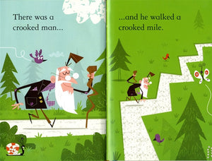 Usborne First Reading: There was a Crooked Man (Level 2)